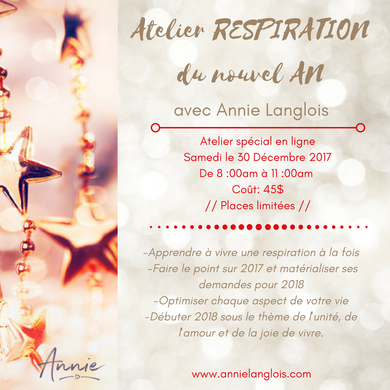 "Atelier ""RESPIRATION du nouvel AN"""